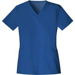 Cherokee V-Neck Top - Royal
